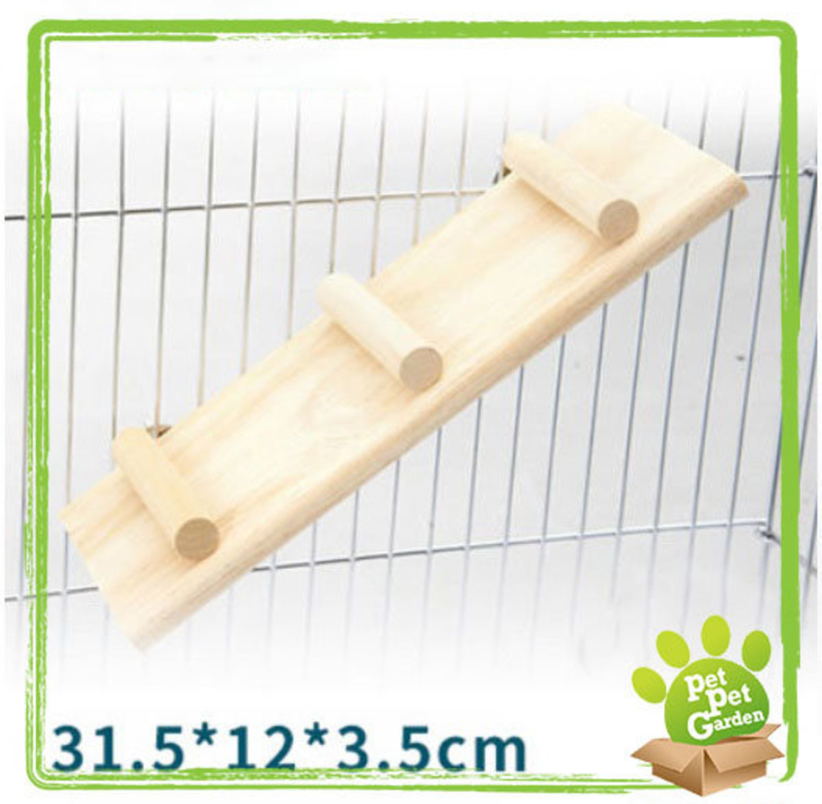 Hamster non-slip stairs