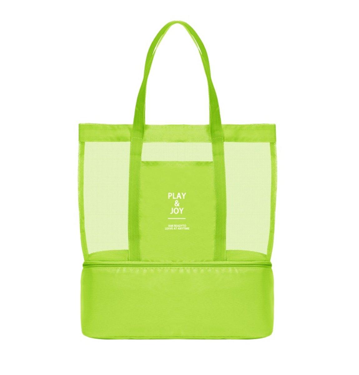 Travel Sports Layered Bag (Green)