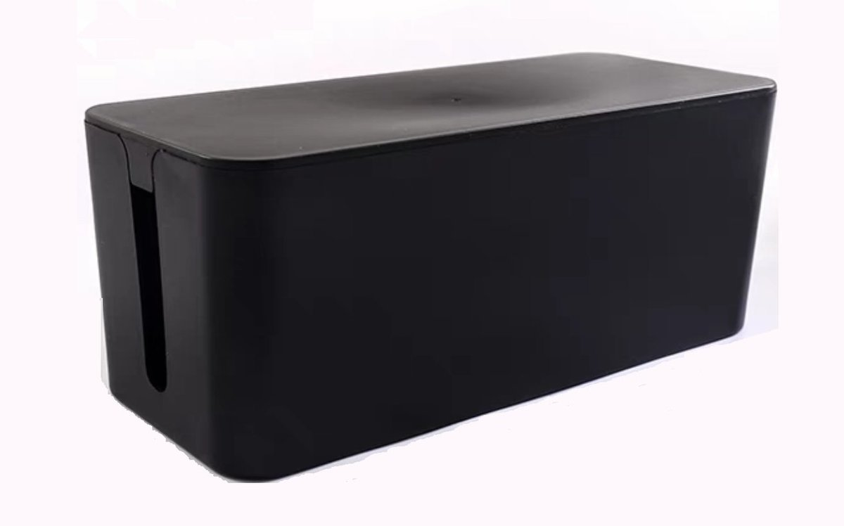電線收納盒-黑色-中碼