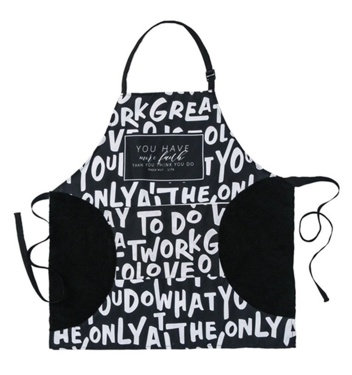 Can wipe the hand waterproof and oil-proof apron - C (alphabet)