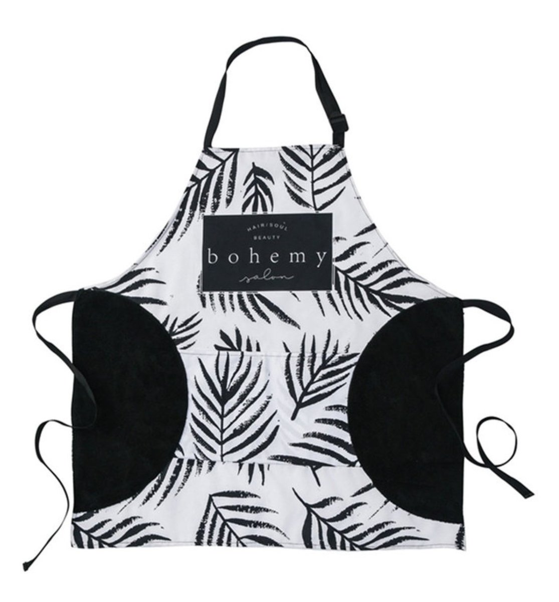 Can wipe the hand waterproof and oil-proof apron - D (Leaf)