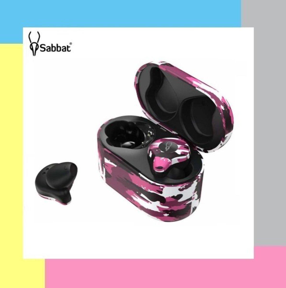 X12 Pro True Wireless Earbuds - Camo Purple