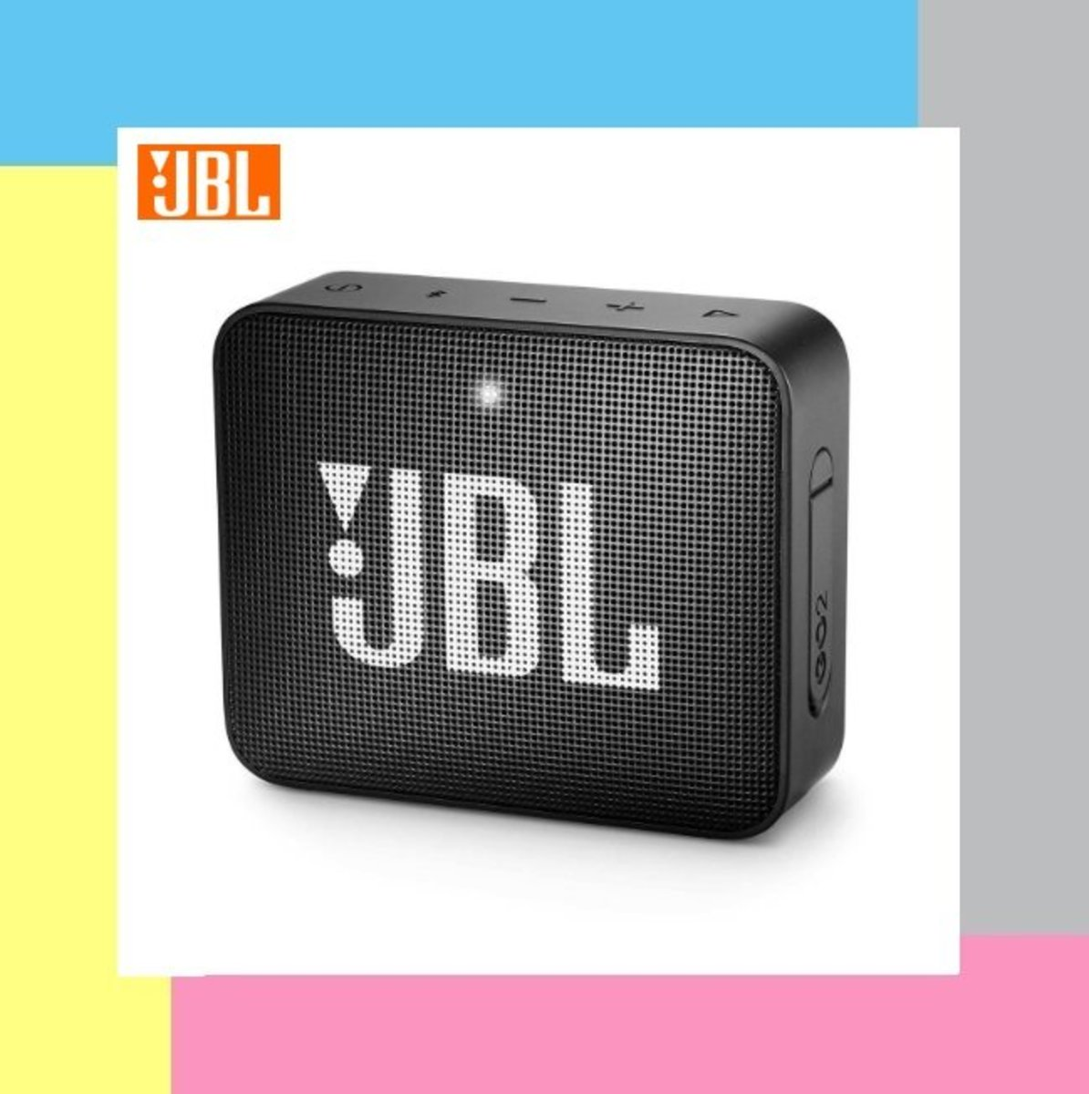 JBL GO 2 Wireless Speaker - Midnight Black [Parallel Import]