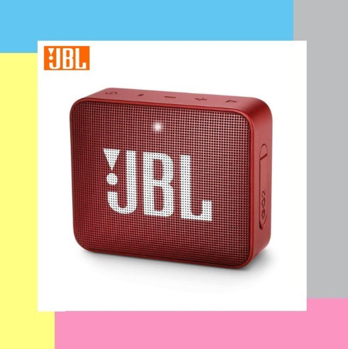 JBL GO 2 無線音箱 - 寶石紅 [產品為平行進口貨 提供一年保養]