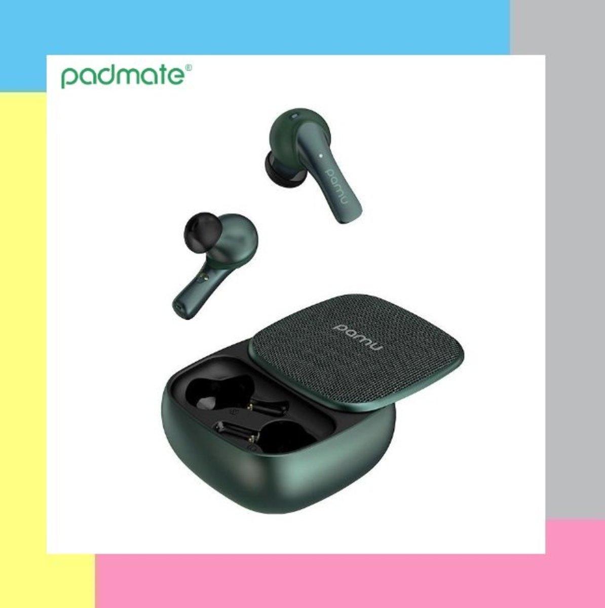 PaMu Slide 真.無線藍牙耳機 - 綠色