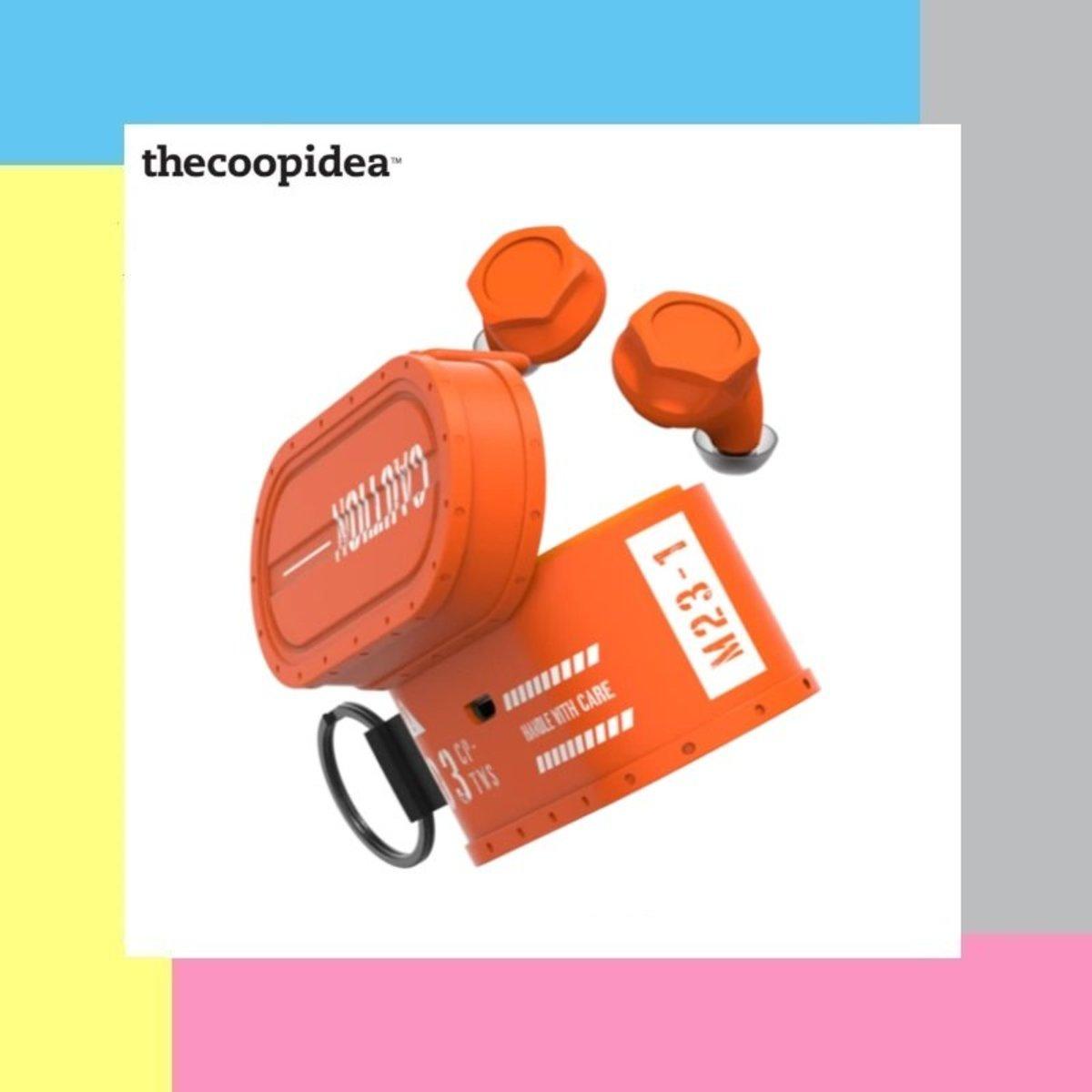 Cargo True Wireless Earbuds - Orange