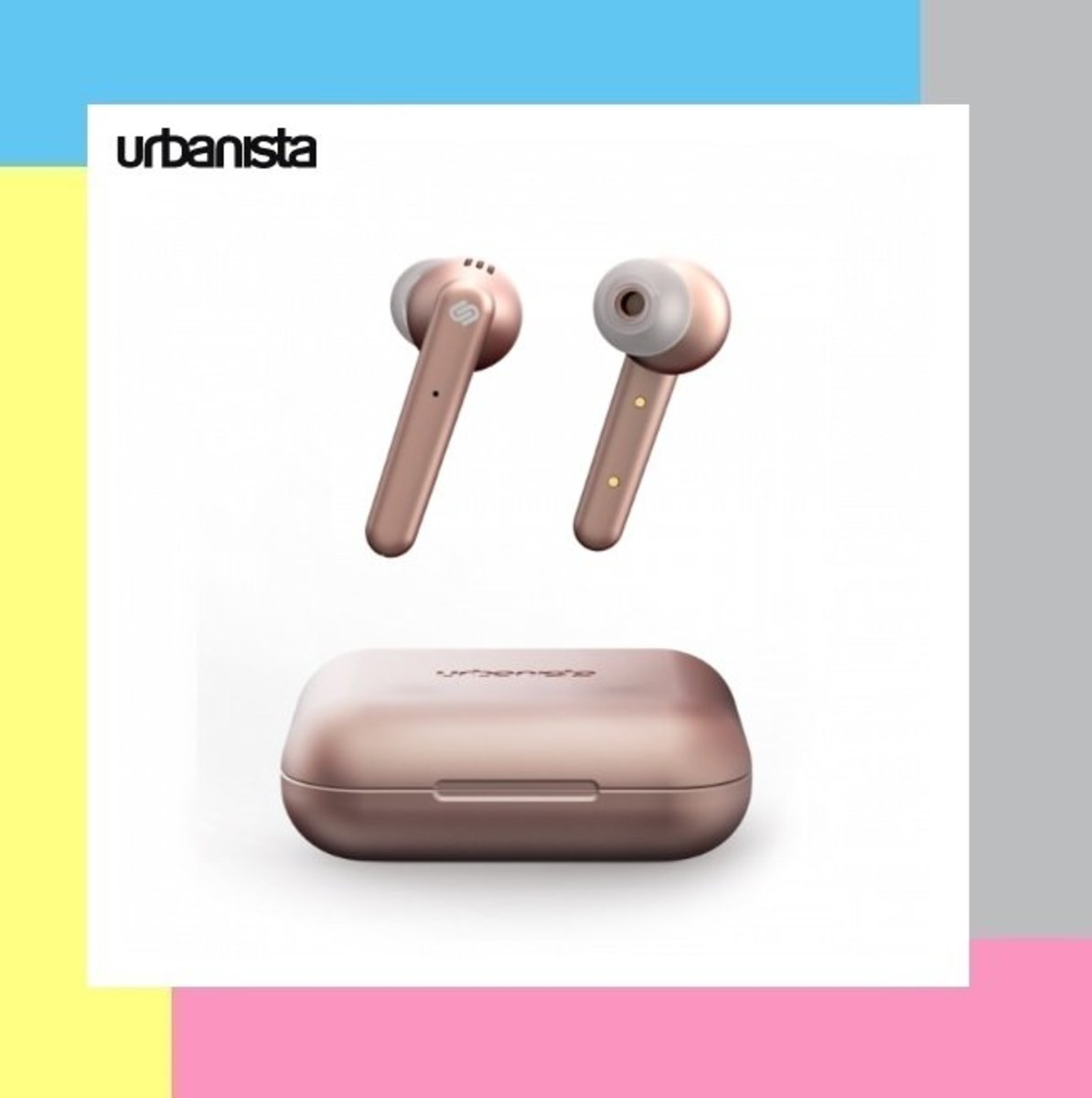 Urbanista PARIS 真無線藍牙耳機 - 粉紅色