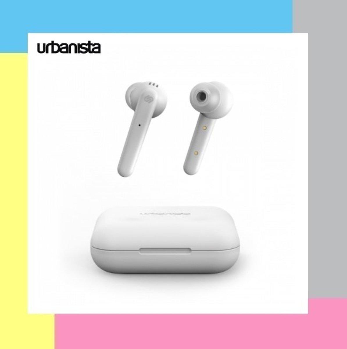 Urbanista PARIS 真無線藍牙耳機 - 白色