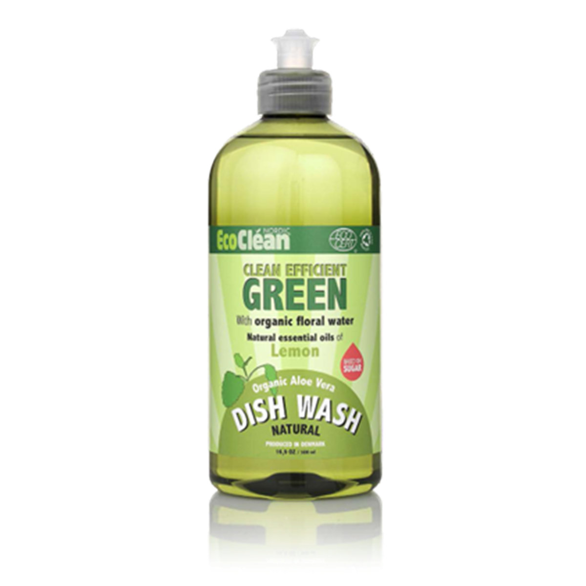 Detergent - EcoClean Nordic Natural Dish Wash (Free & Clear)