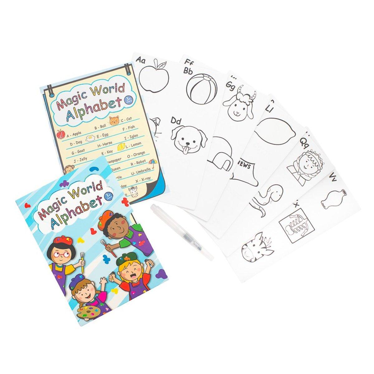 英文識字卡 - ABC 英文字母 拼字卡