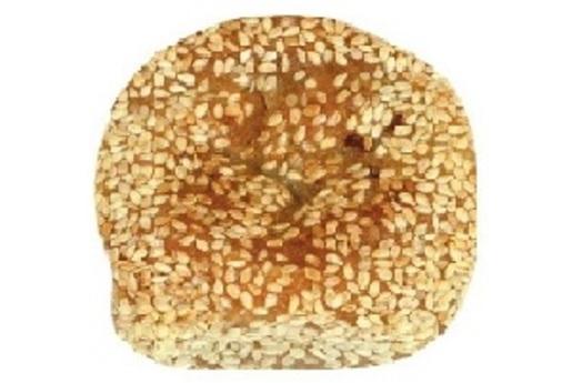 Sesame scallion cake