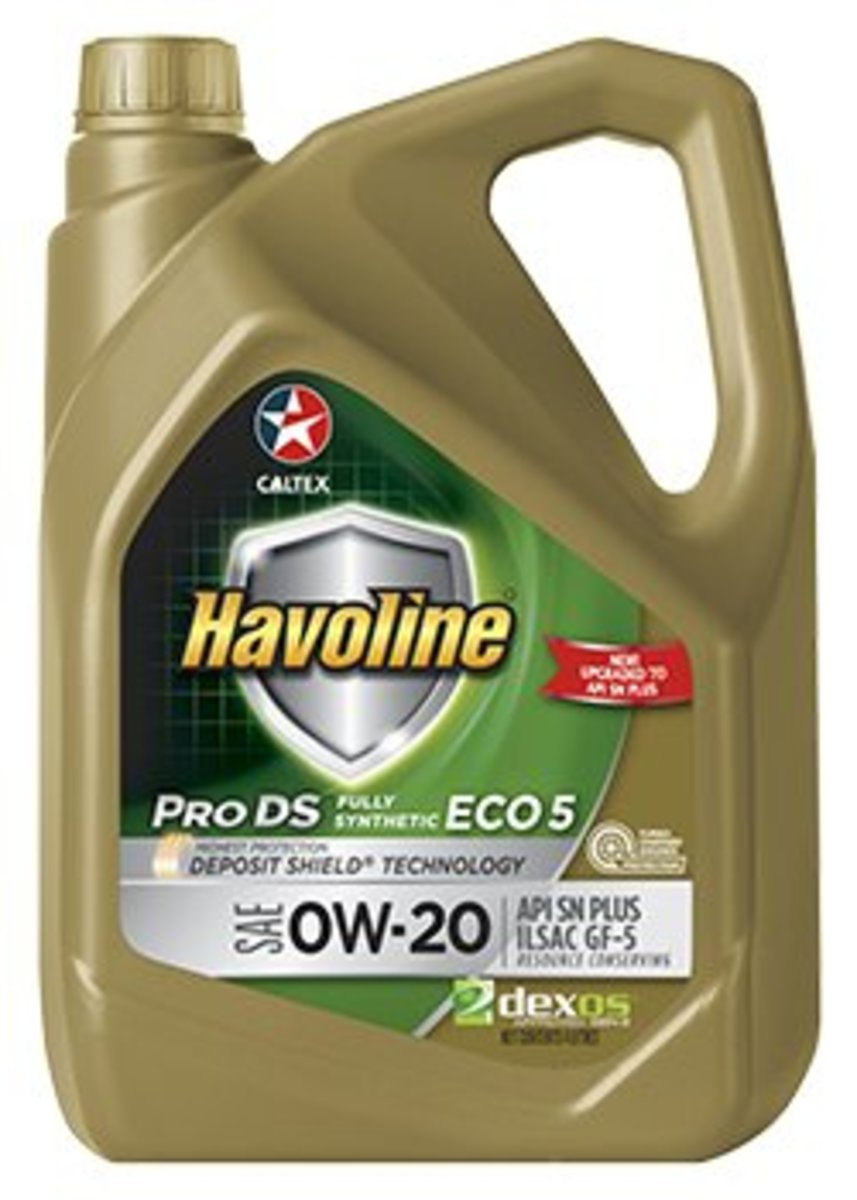 Havoline® ProDS Fully Synthetic Eco SAE 0W-20