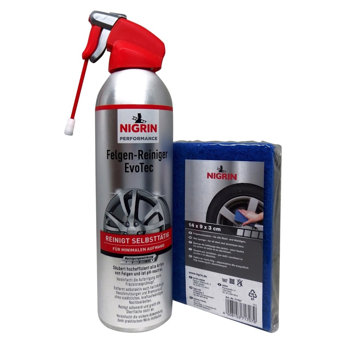 EvoTec Wheel Cleaner Aerosol, 500ml (N72976P2)