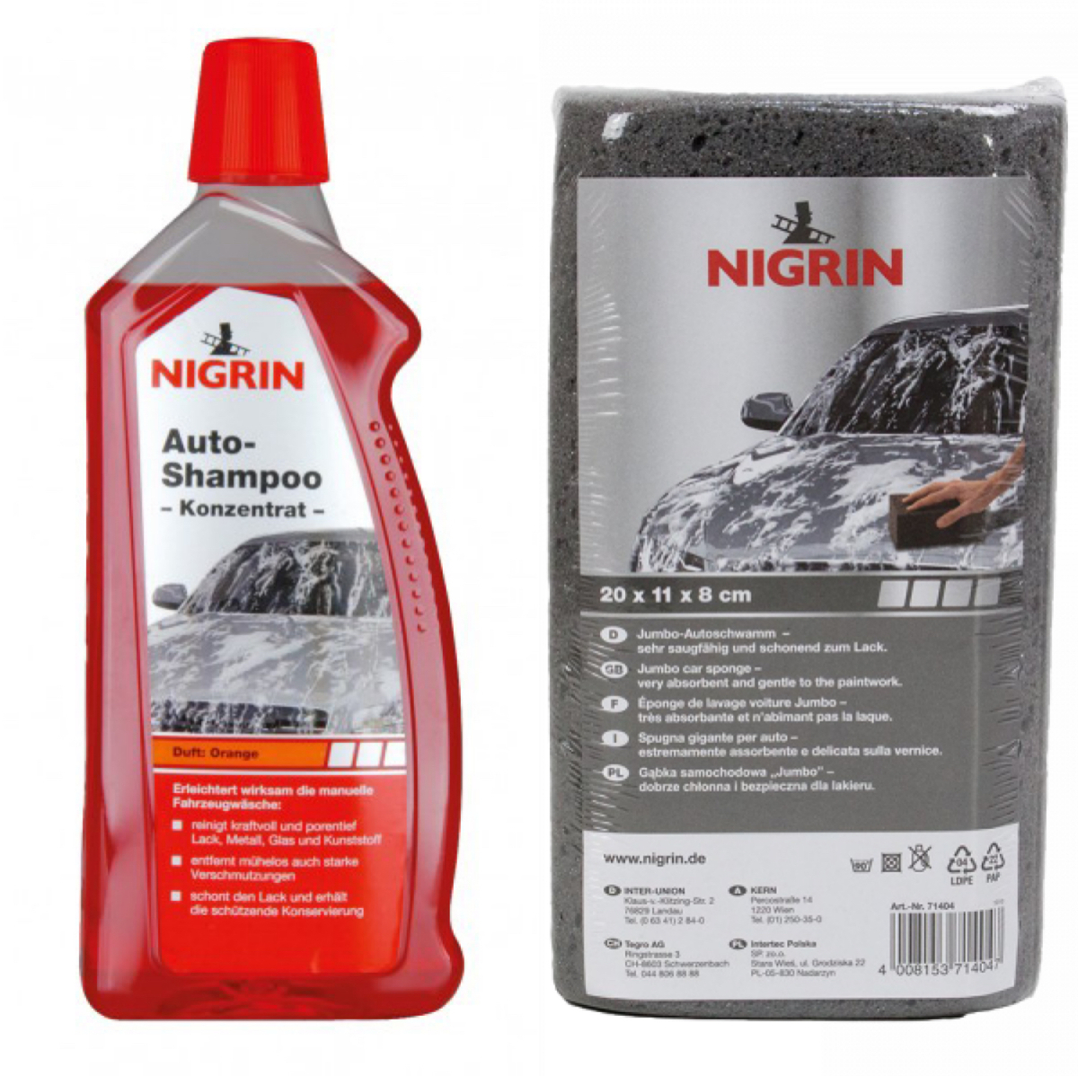 德國麗潔靈濃縮洗車水+ 海綿套裝
