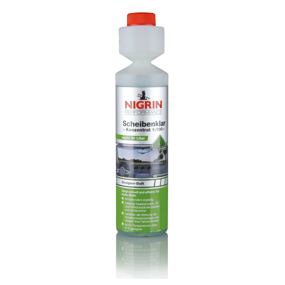德國麗潔靈擋風玻璃超濃縮清潔液 (250ml)