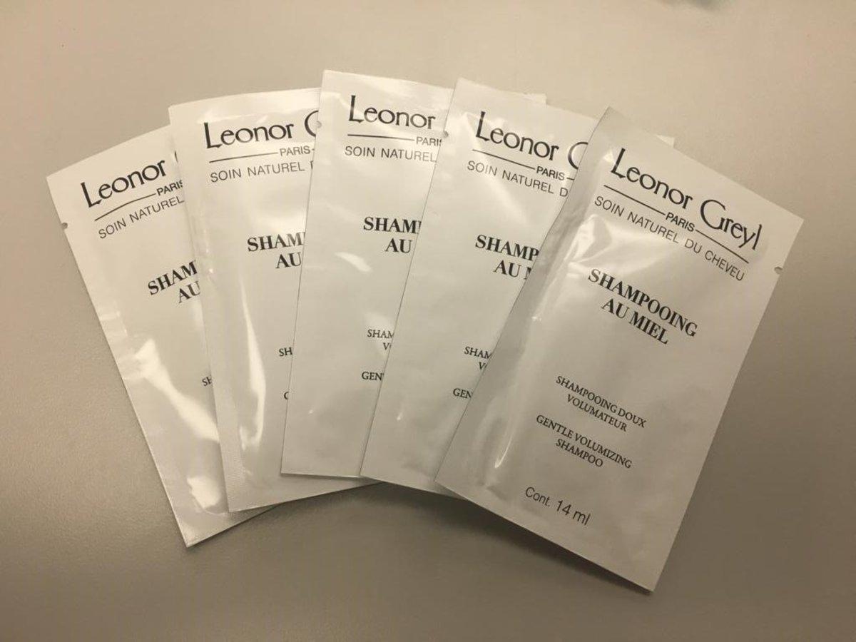 Shampooing au Miel - Gentle Volumizing Shampoo (Travel Size x 5) [Parallel Import]