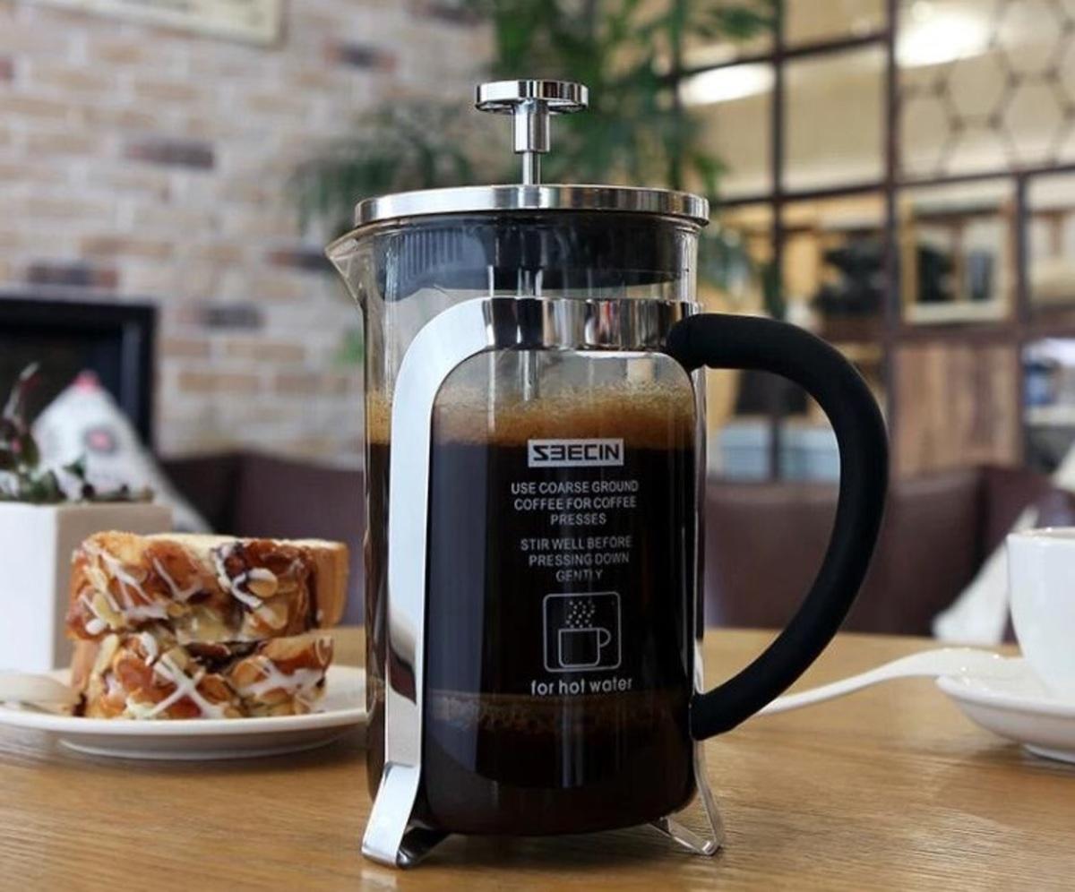 Glass Tea & coffee press mug-350/600ml