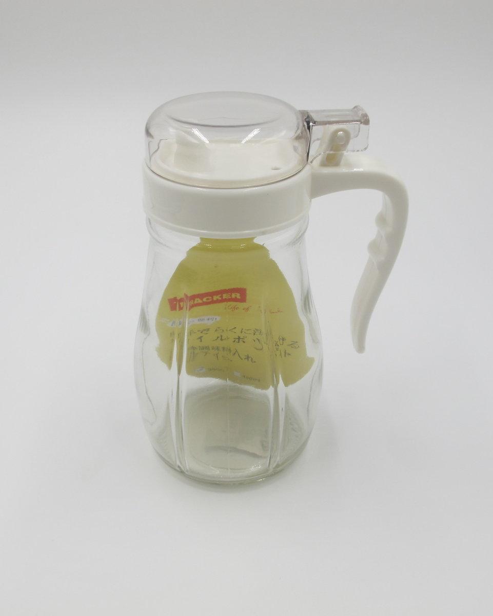 Glass Oil Bottle (350ml)WHITE