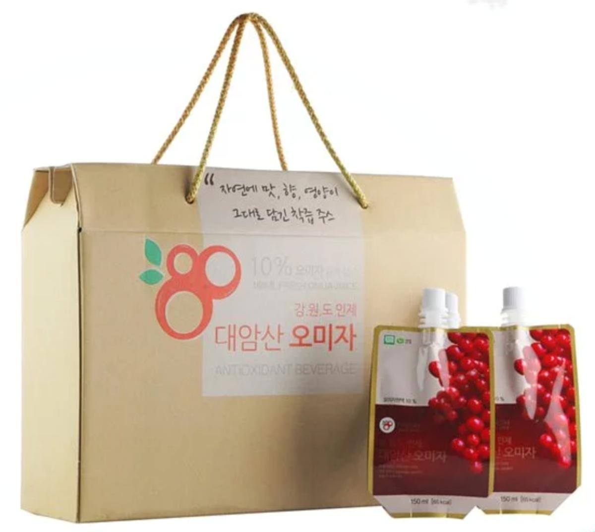 100%五味子果汁 (150mlx15包)盒