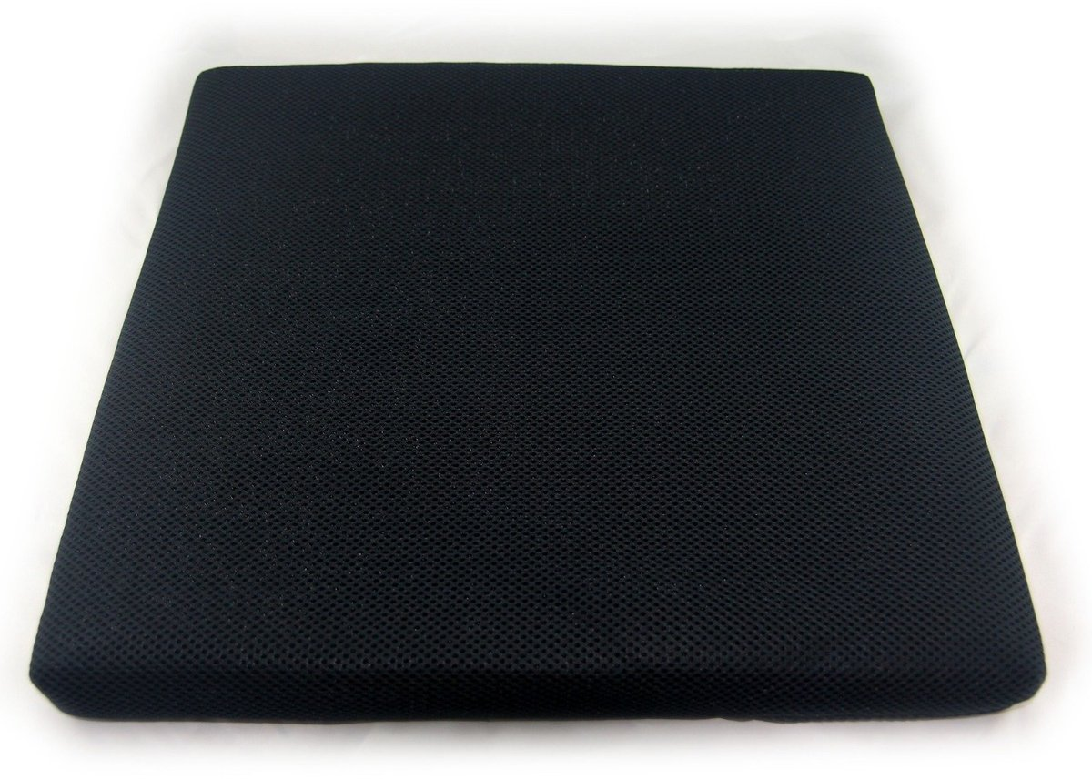 Washable Sildeproof seating cushion - Black color (Thickness : 4cm)