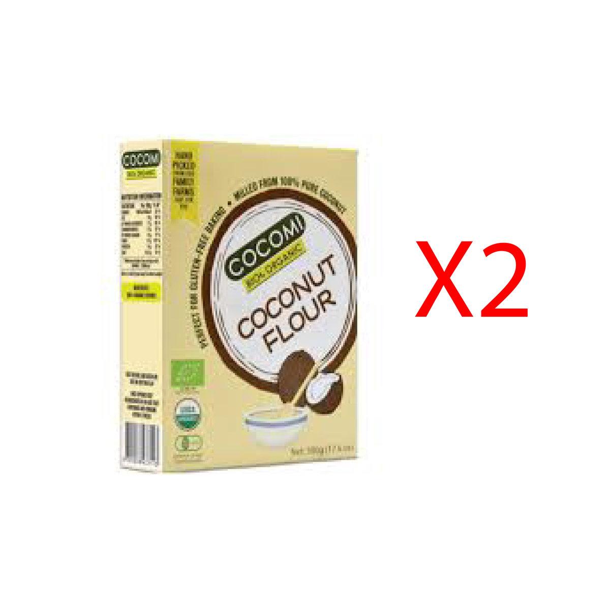 Organic Coconut Flour (Keto, Flour replacer, Gluten Free) (2 Boxes)