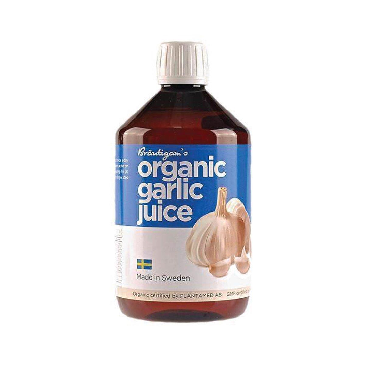 Organic Garlic Juice (digest, immunity, heart)