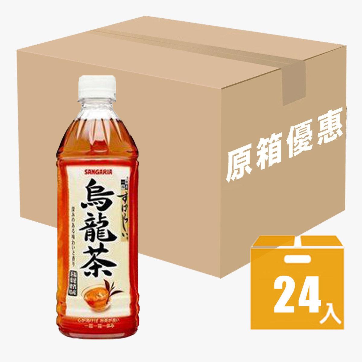 Oolong Tea 500ml x 24 (expiry date: 12/2020)