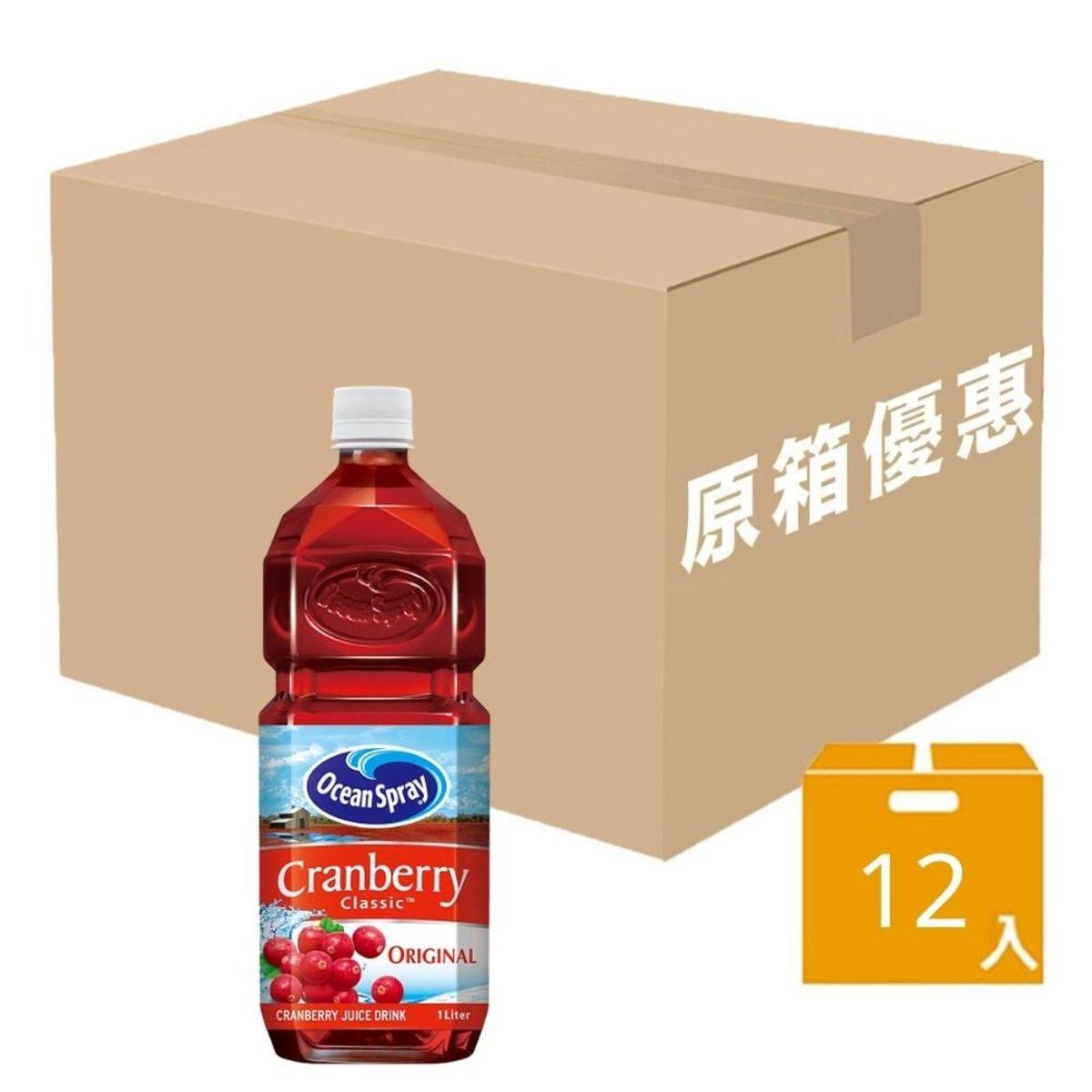 Cranberry Classic Juice 1L x12 [full case]