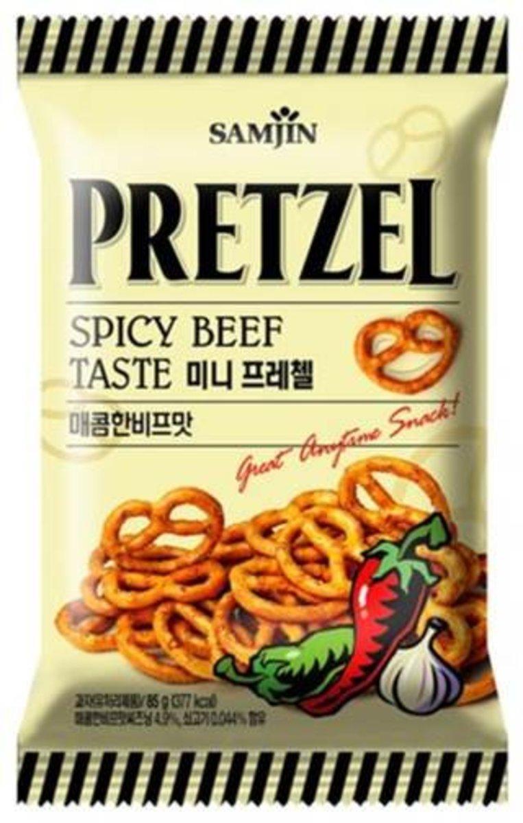 Mini Pretzel - Spicy Beef Taste 85g