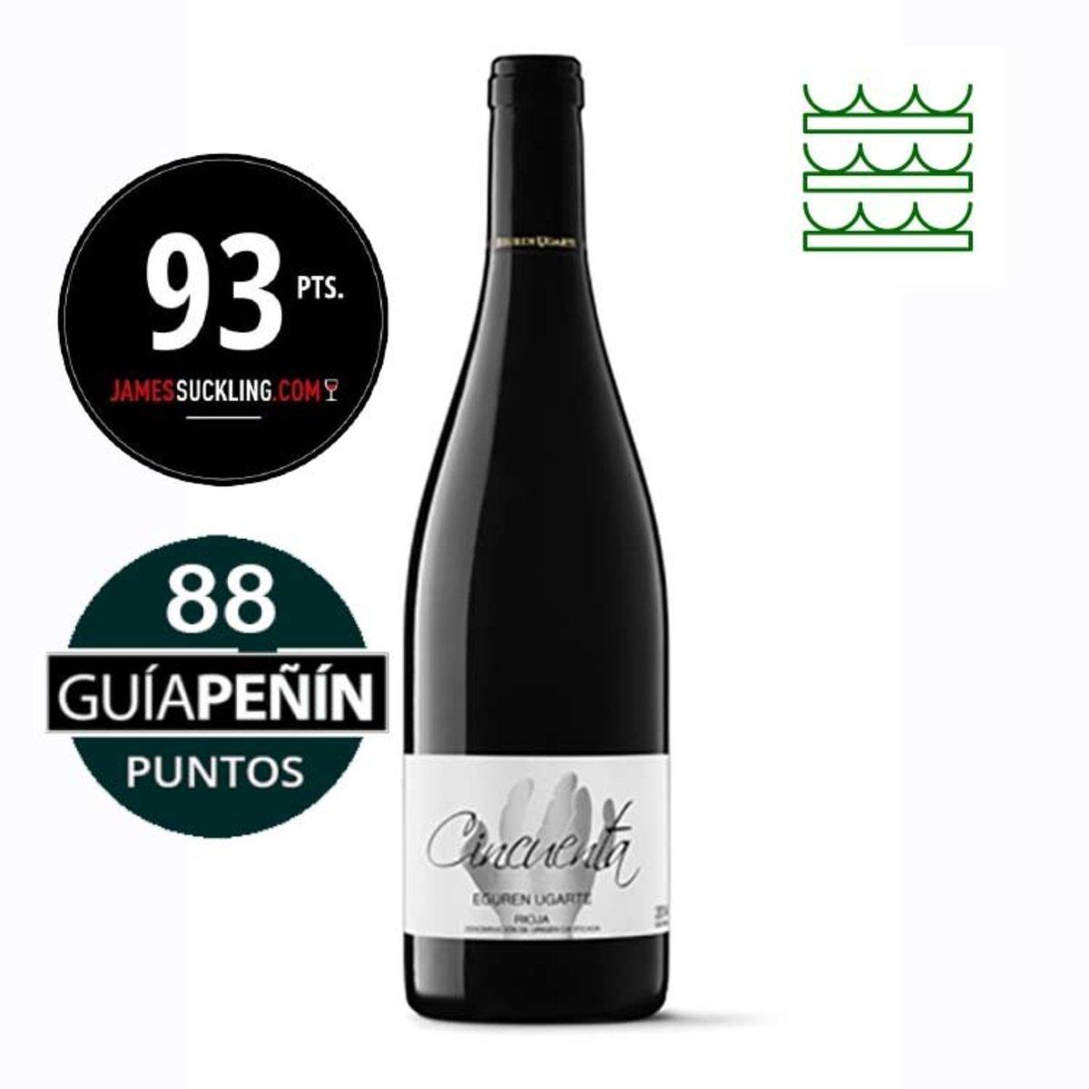西班牙紅酒里奧哈50年老藤 Cincuenta 2015