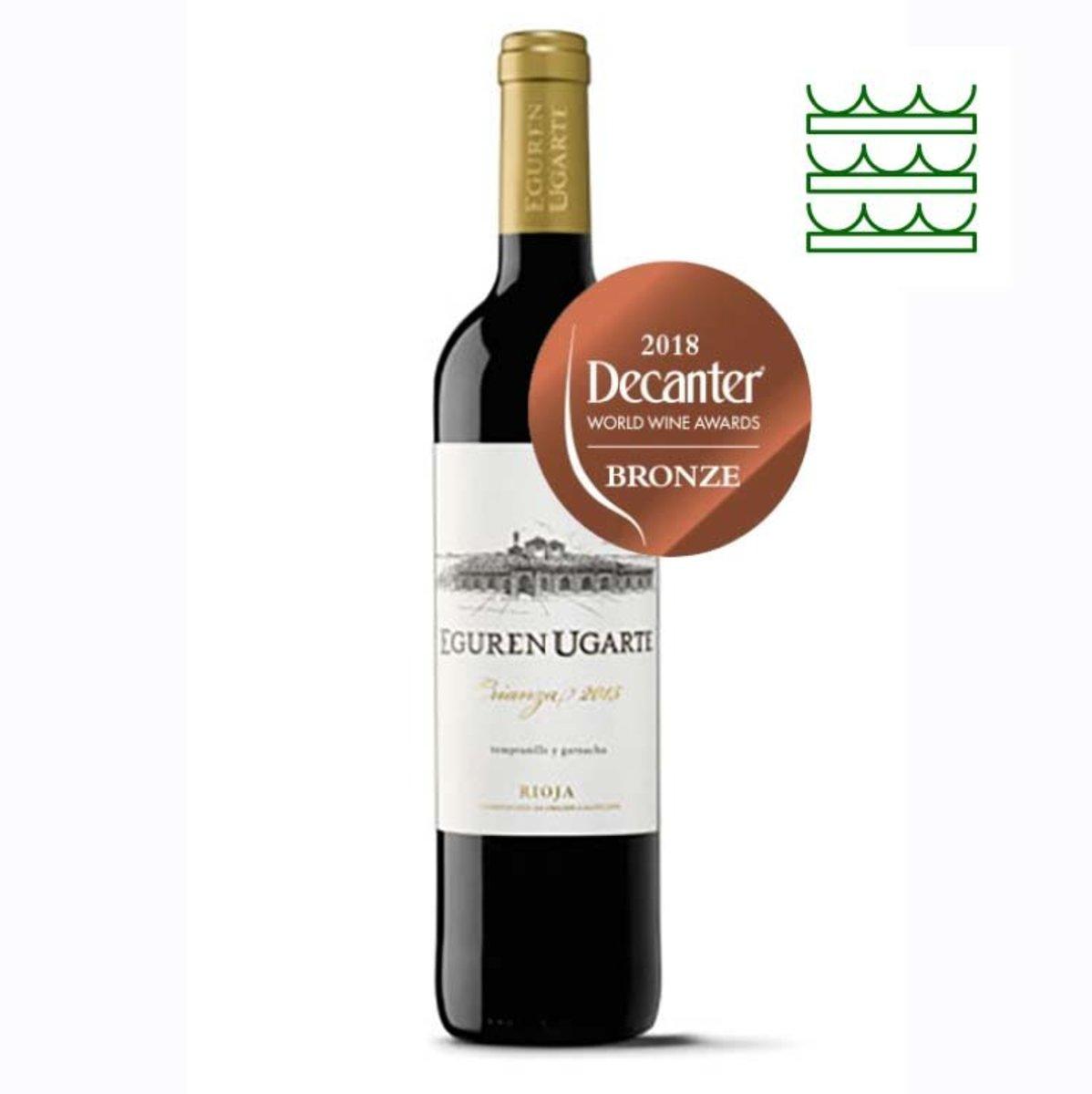 西班牙紅酒里奧哈 Crianza 2015 (Decanter 銅獎)