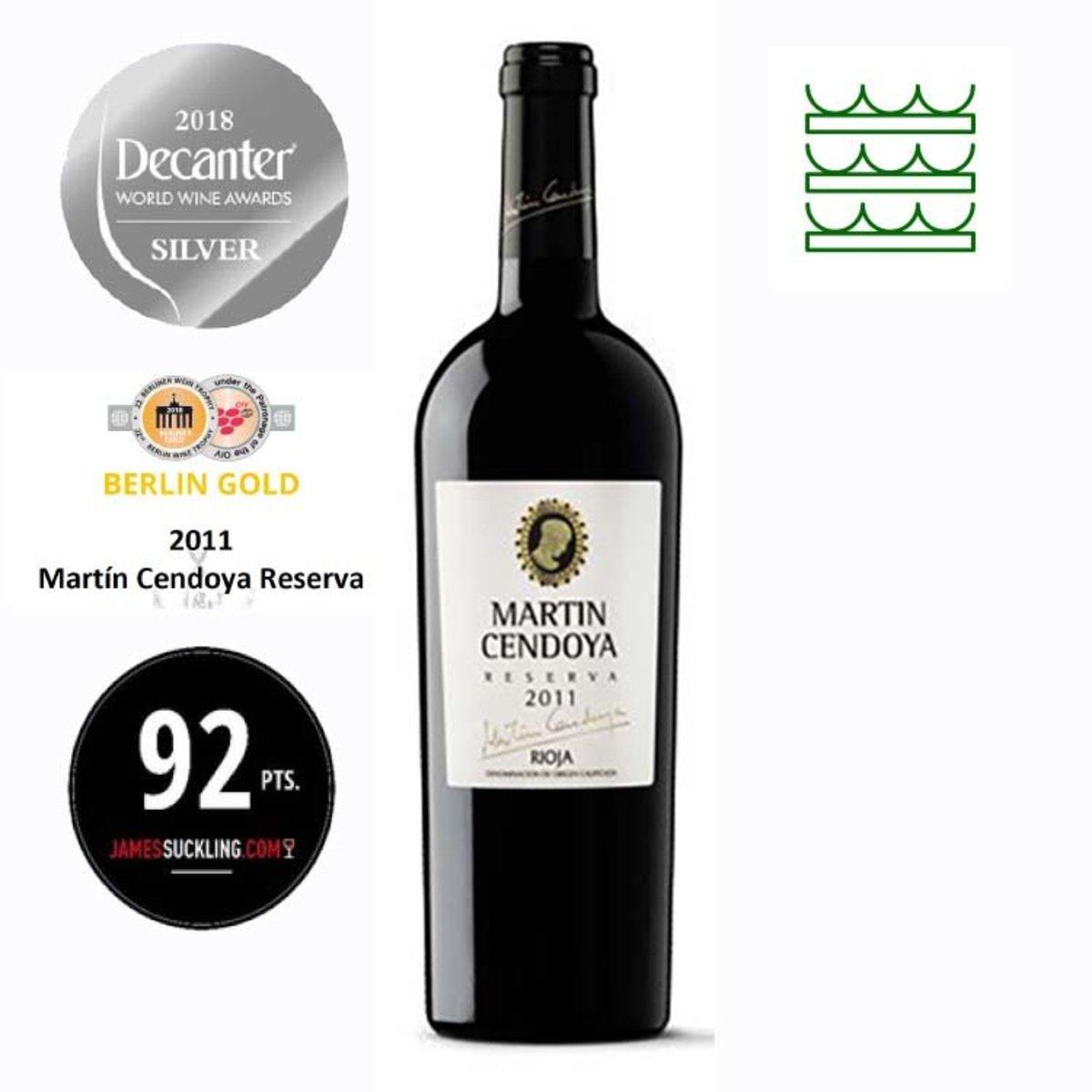 Decanter銀獎西班牙紅酒里奧哈 Martin Reserva 2011