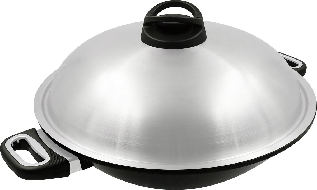 The Woking Gourmet 36cm with Two Side Handles