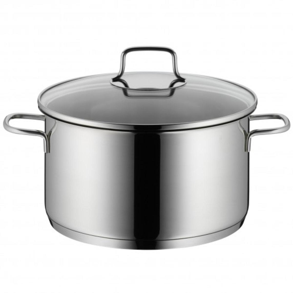 Φ24cm High casserole with lid (5.7L)