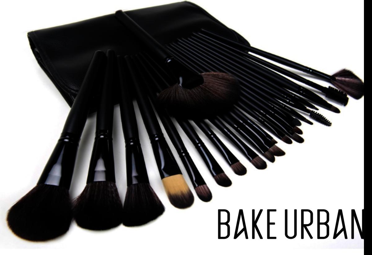 專業純黑化妝掃套裝:BU24