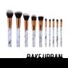黑白大理石紋化妝掃套裝:BU10