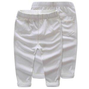 LaVe Mini 小童彈力牛仔褲-白色 (90CM)