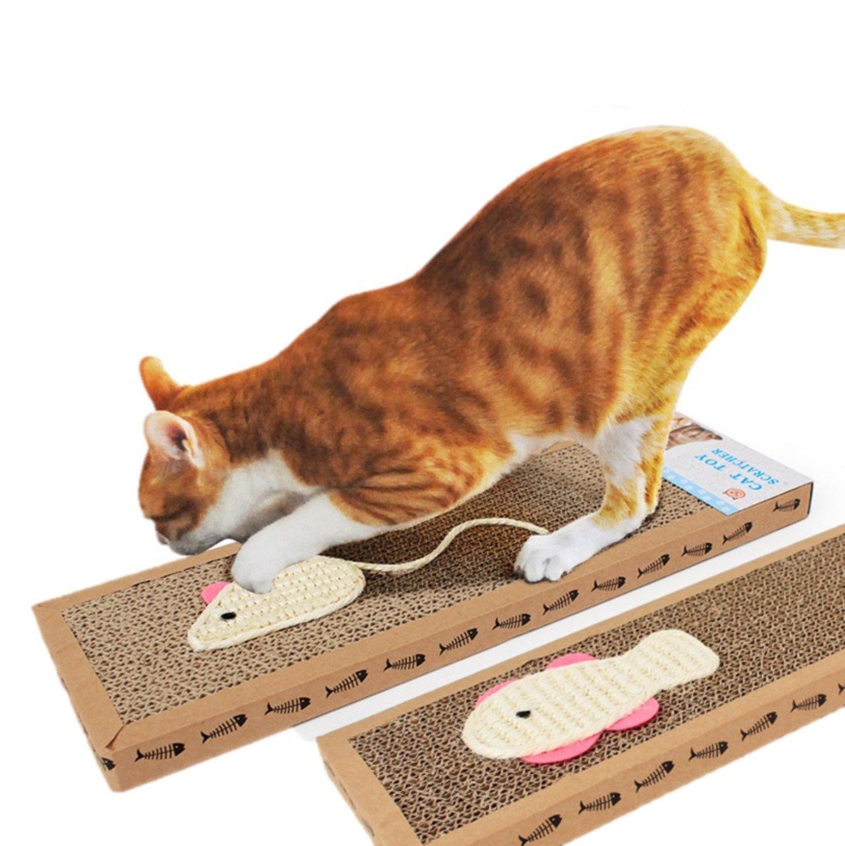 動物造型瓦楞紙貓抓板 大號
