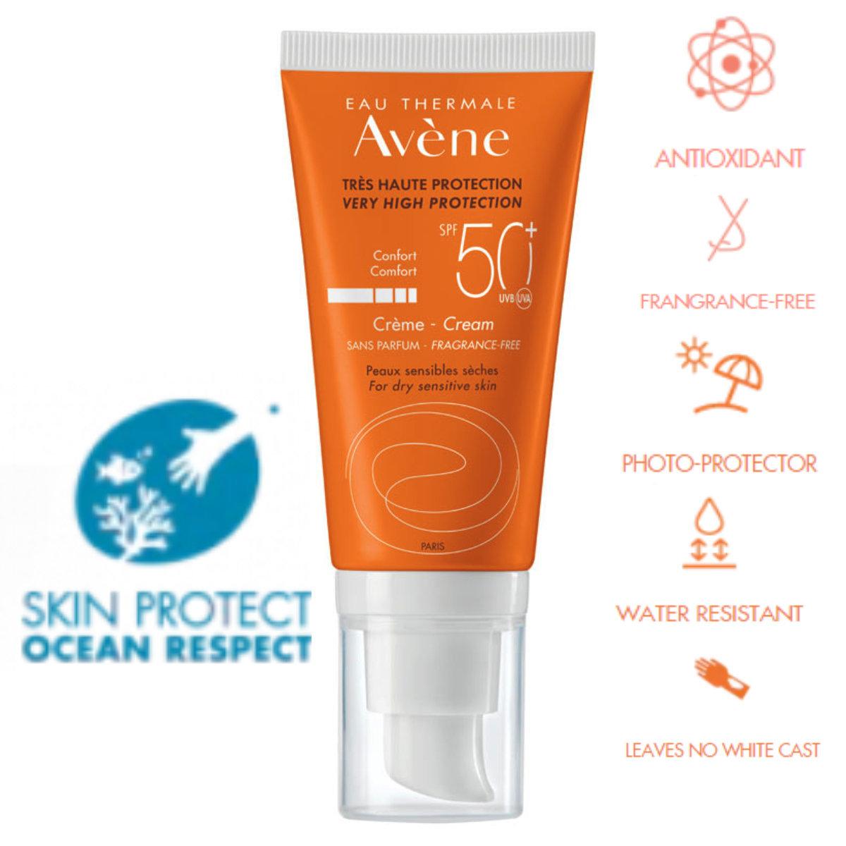 Sun Care Cream SPF50+ Fragrance Free 50ml