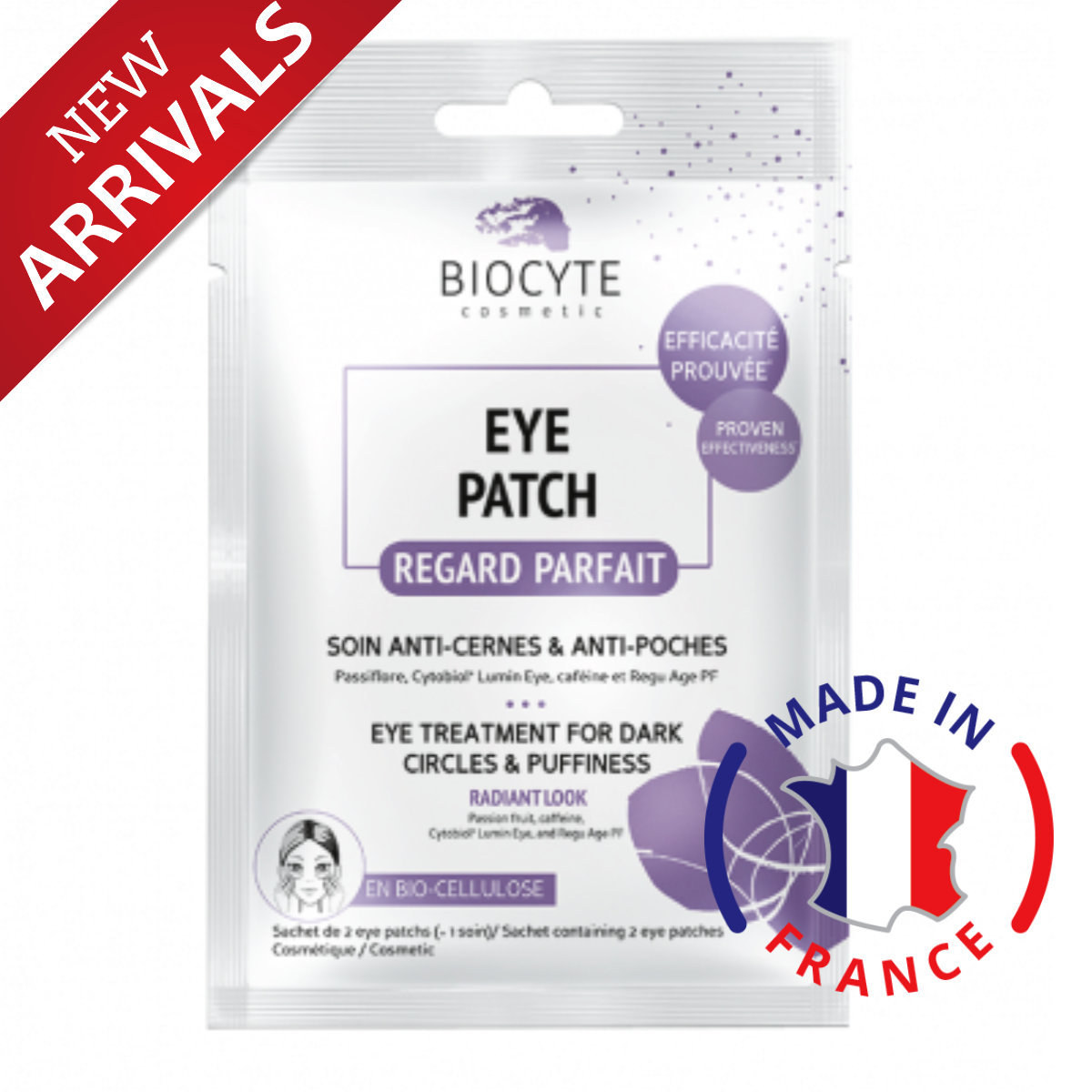 Eye Patch for Dark Circle & Puffiness [made in France]