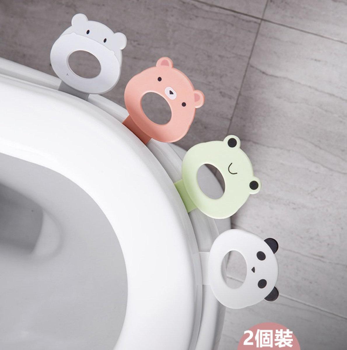 卡通款 廁所馬桶衛生揭蓋把手(2件裝)