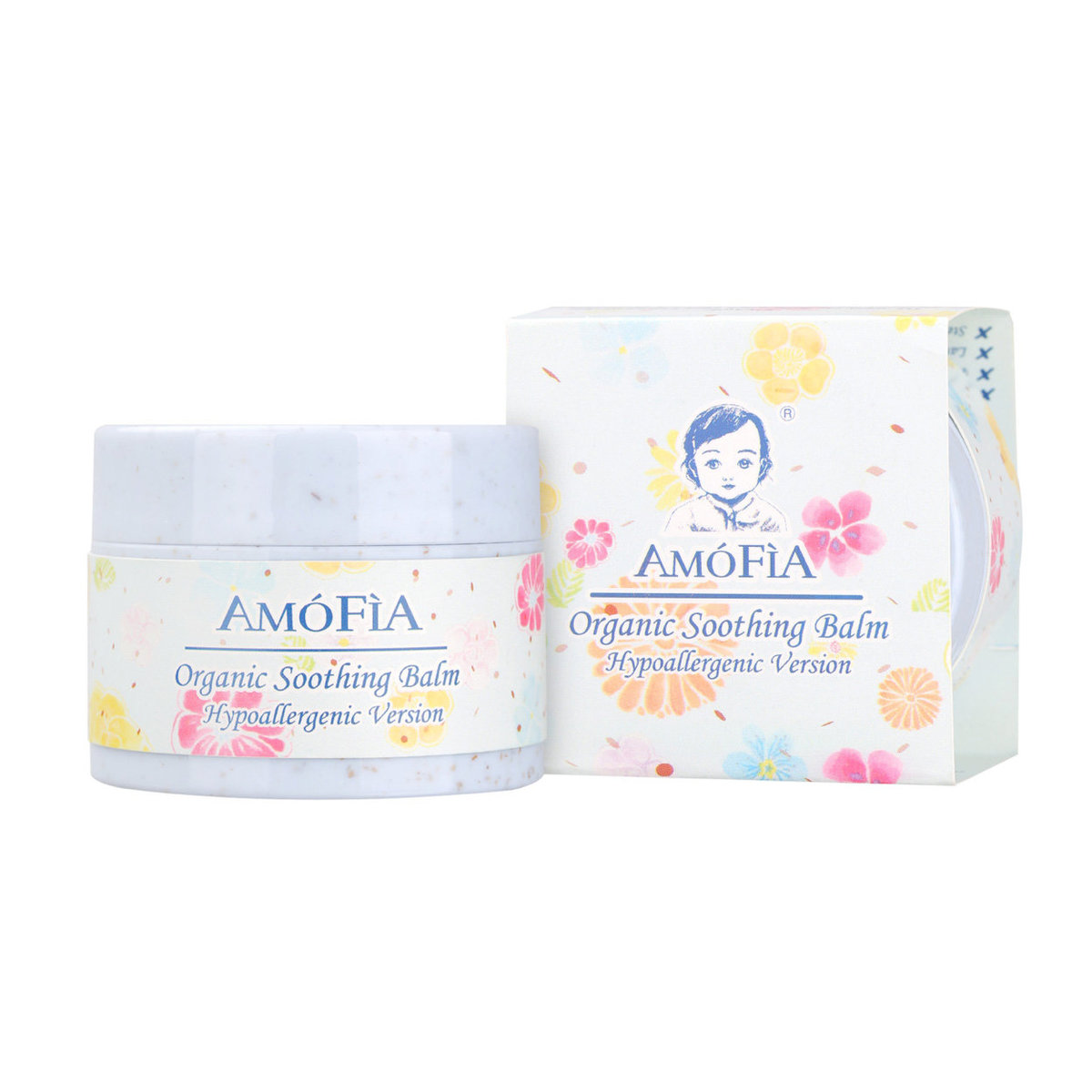 AMOFIA Organic Hypoallergenic Soothing Balm
