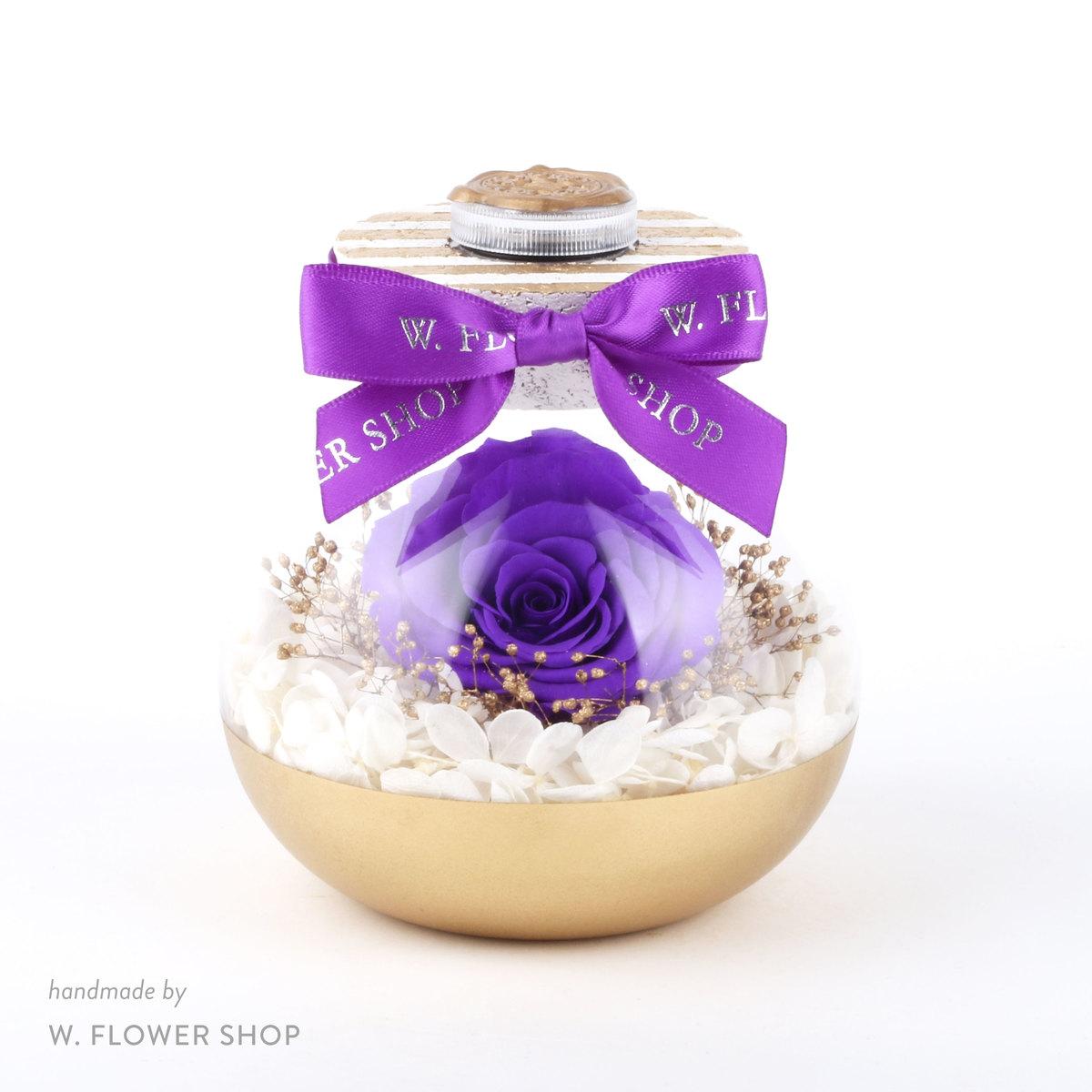 LITTLE WISHFUL GLASS - Amethyst Purple