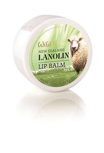WILD FERNS 羊毛脂潤唇膏 含乳木果油 15克