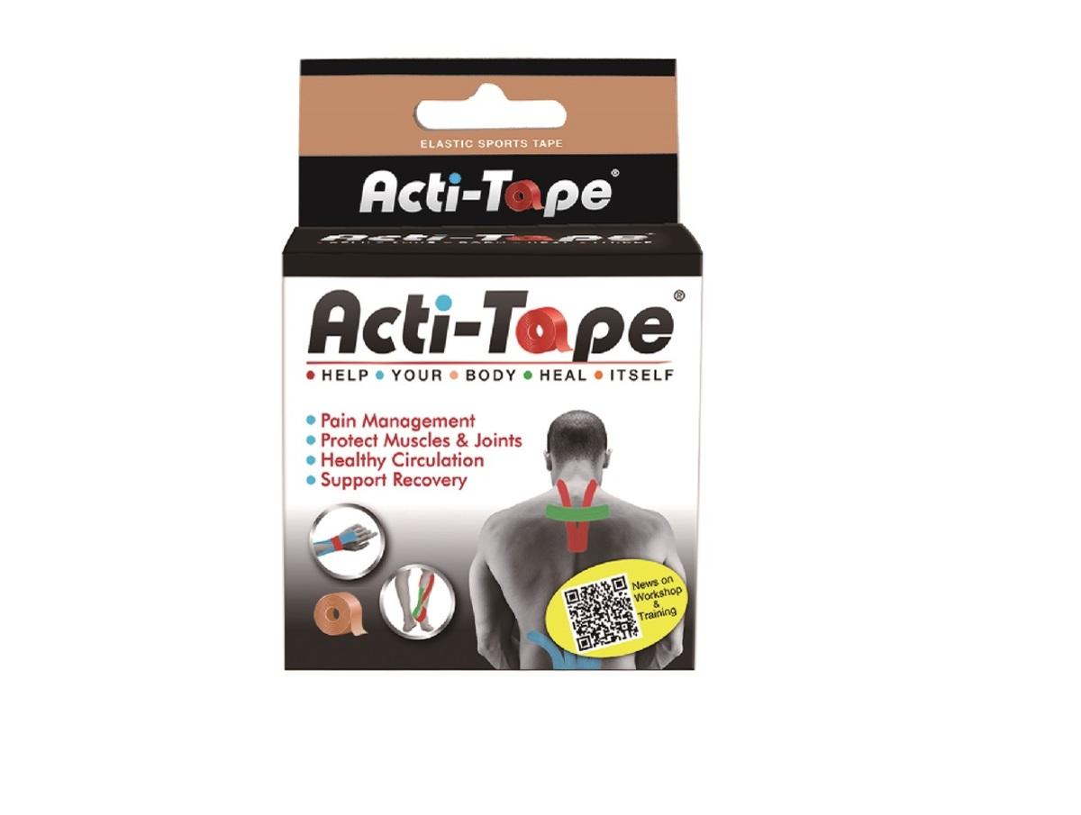 Acti-Tape 5cm X 5m Beige