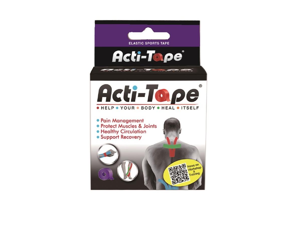 Acti-Tape 5cm X 5m Purple