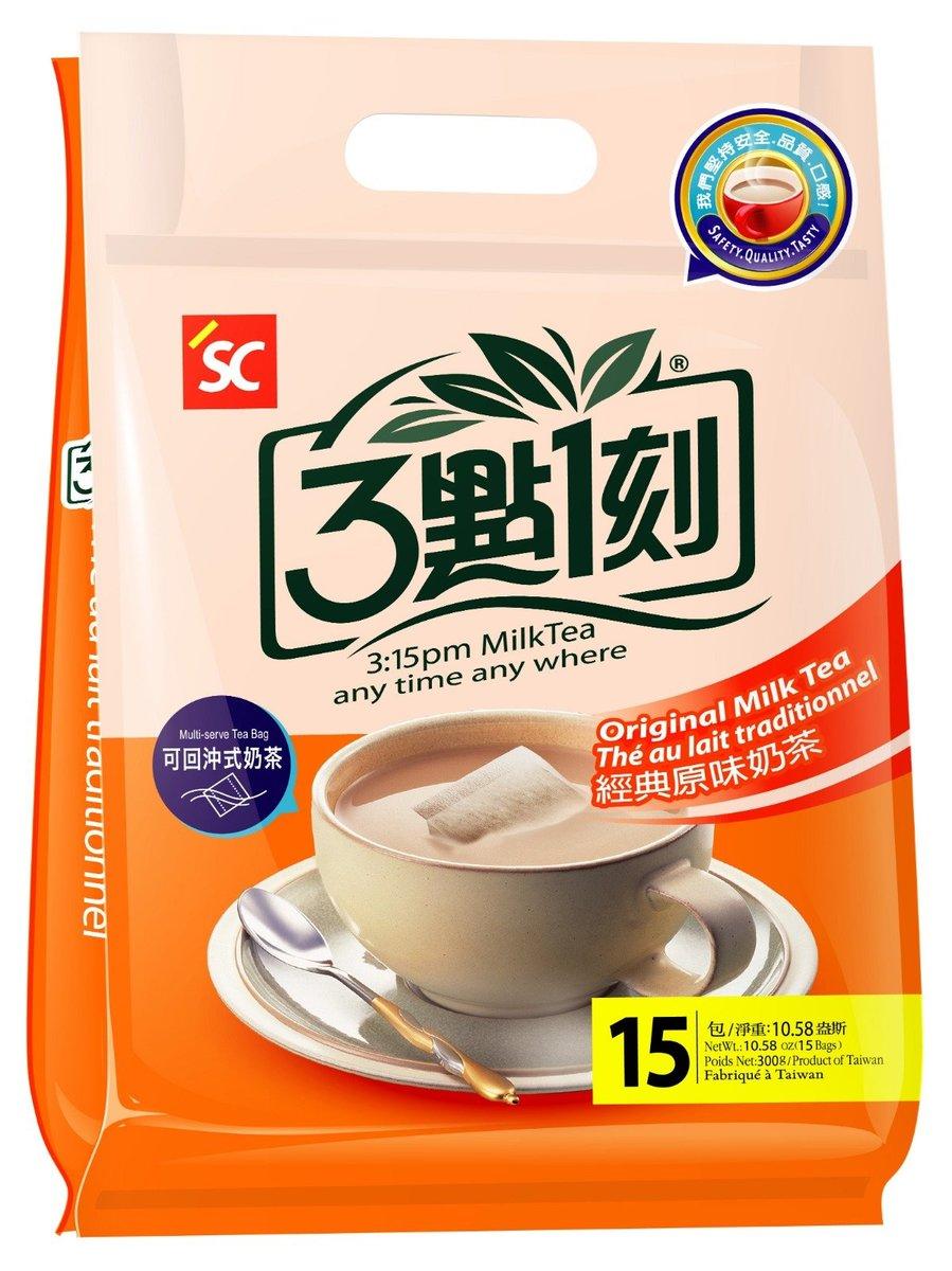 3:15PM Original Milk Tea  (20g x 15 sachets)