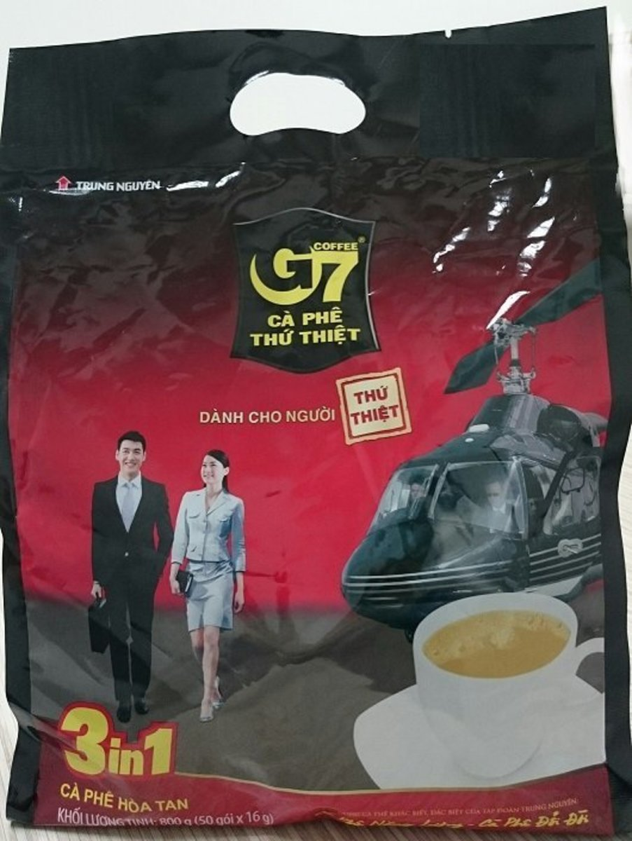 G7 3 in 1 Instant Coffee  (16g x 50 sachets)
