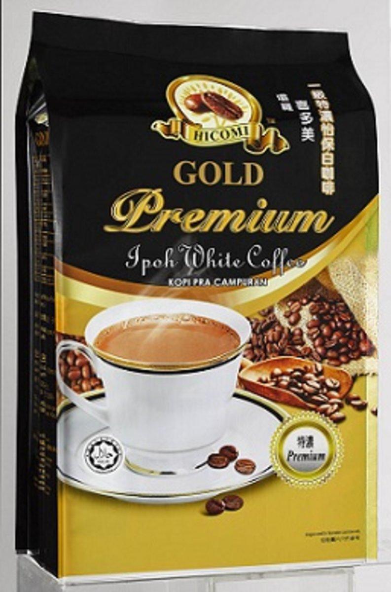 Hicomi 3in1 Premium With Coffee (40g x 15 sachets)