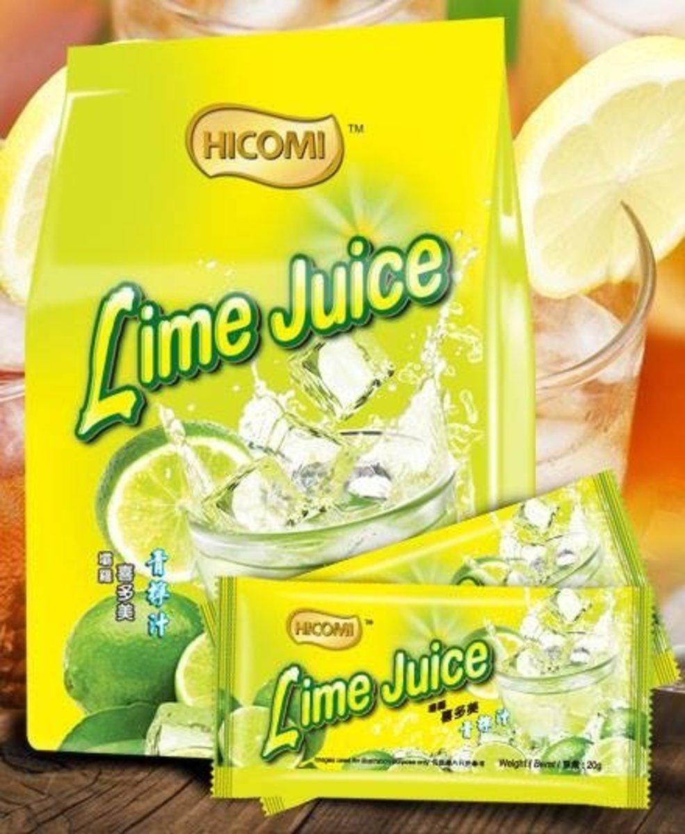 Hicomi Lime Juice (20g x 15 sachets)